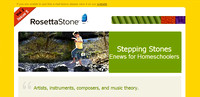 Rosetta Stone Direct Email Ad