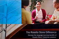 Rosetta Stone Business Direct Mail